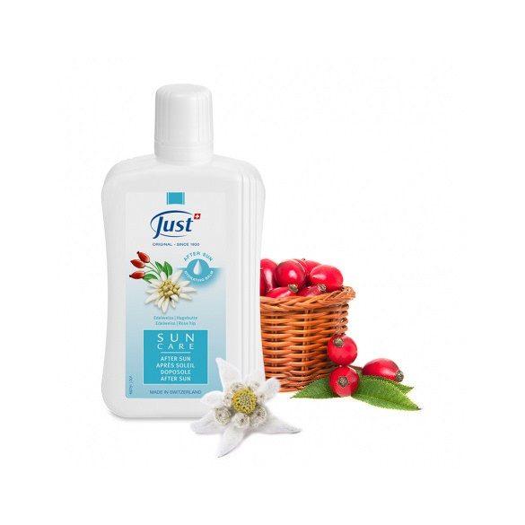 Just Napozás utáni hidratáló balzsam havasi gyopárral és csipkebogyóval (250 ml)