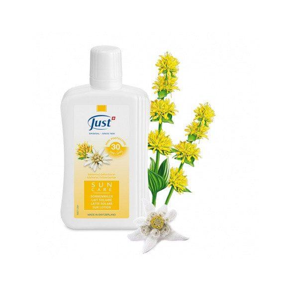 Just Naptej havasi gyopárral és vadrózsával SPF30 (250 ml)