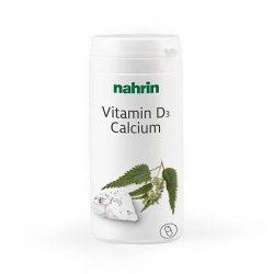 Nahrin D-vitamin + kálcium kapszula (60 db)