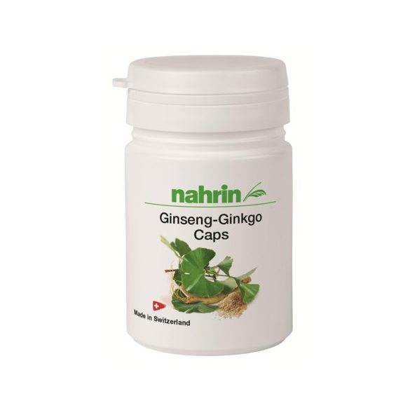 Nahrin Ginseng - Ginkgo kapszula (12 g / 30 db)