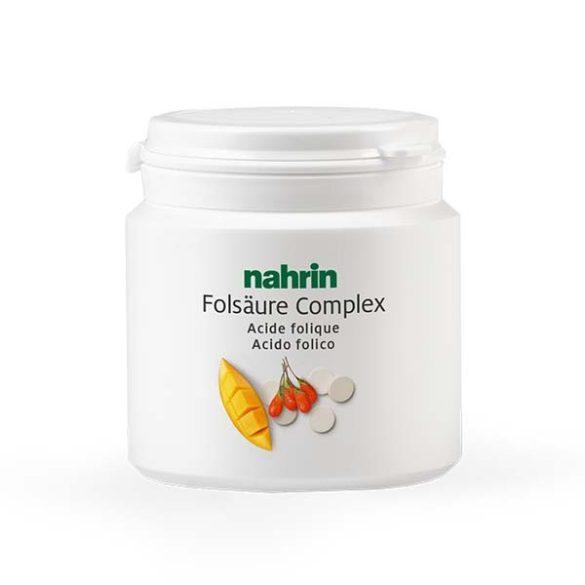 Nahrin Folsav rágótabletta mangóval és goji bogyóval (60 db/90 g)