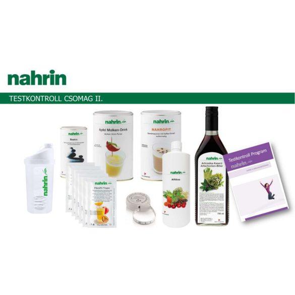 Nahrin Testkontroll csomag II. (6 féle termék+2 kiadvány)