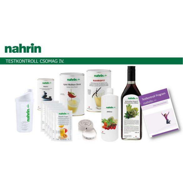Nahrin Testkontroll csomag IV. (6 féle termék+2 kiadvány)